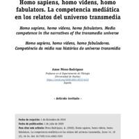 La competencia ediática en los relatos del universo transmedia.pdf
